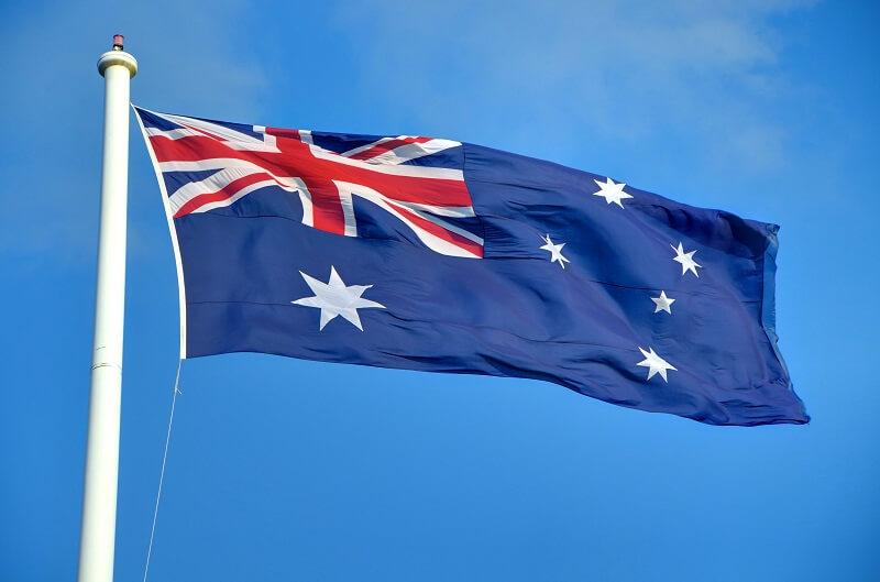 flag australia day
