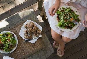 australia day bbq food salad