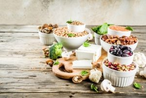 vegan and vegetarian protein sources