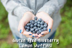 blueberries for blueberry lemon muffins