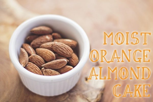 almonds moist almond cake