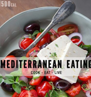 Mediterranean Eating 1500 calories