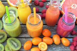 juicing fruits and vegetables