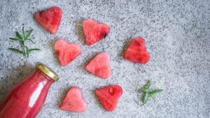 watermelon hearts valentines day meal ideas