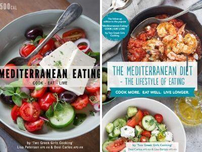 mediterranean diet cookbooks two greek girls