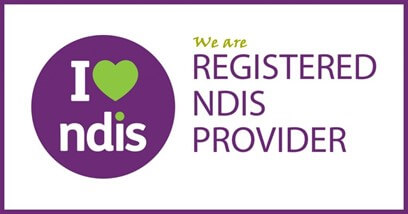 NDIS Dietitian Registered Provider logo